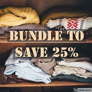 Bundle to save 25%